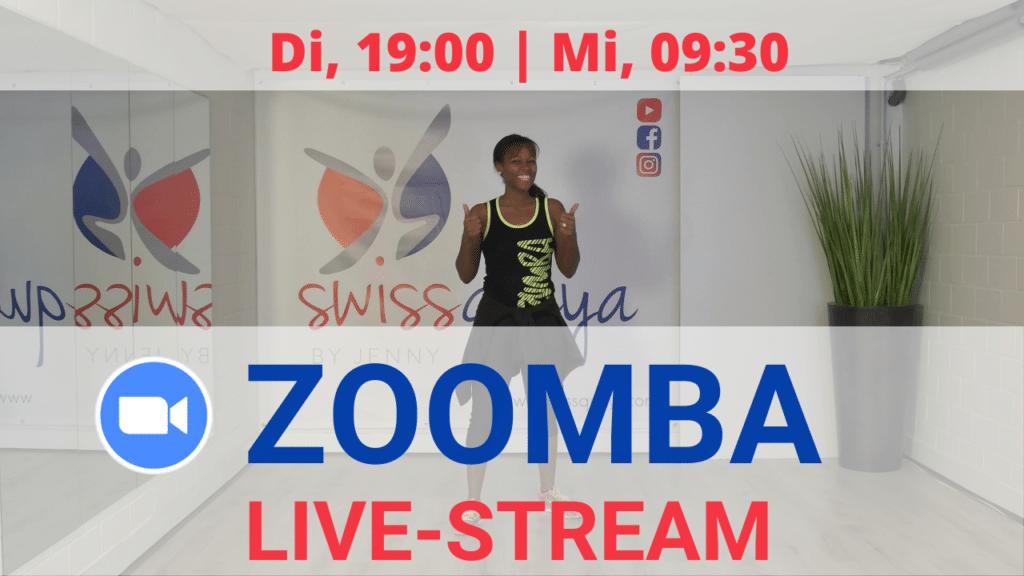 Titelbild Zumba Livestream inkl. Zeiten